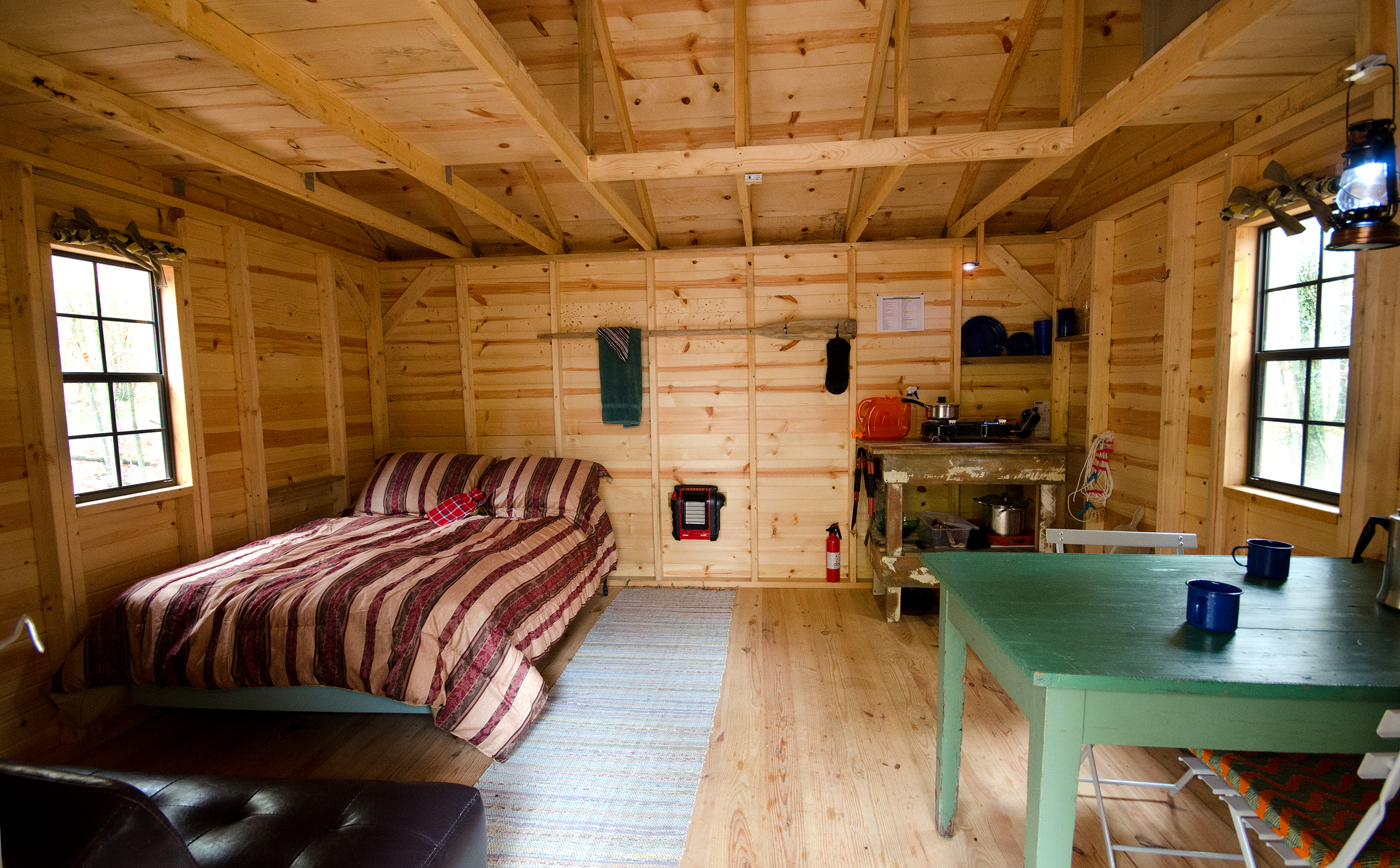Wild Yough Glamping Huts Turn Key Camping In Space And Style